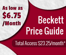 Beckett Price Guides