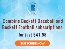 Beckett Baseball & Football Subscription