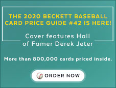 Baseball Card Price Guide #42