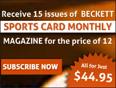 Sports Card Monthly 15 Issue Offer