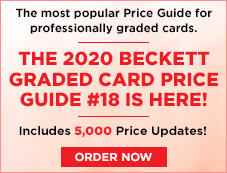 2020 Beckett Graded Card Price Guide #18