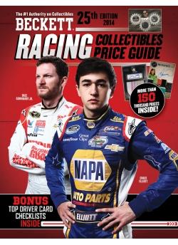 Beckett Racing Price Guide #25 2014