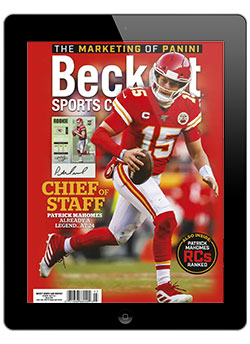 Beckett Sports Card Monthly March 2020 Digital