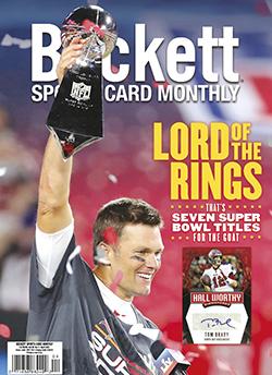 Beckett Sports Card Monthly 433 April 2021