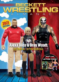 2021 Beckett Wrestling Almanac #3