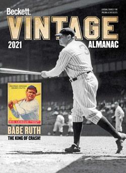 2021 Beckett Vintage Almanac #7