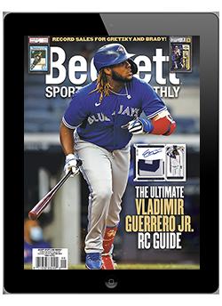 Beckett Sports Card Monthly Digital