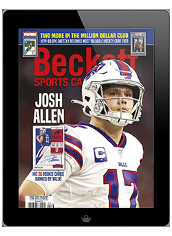 Beckett Sports Card Monthly February 2021 Digital