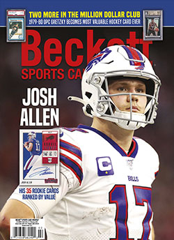 Beckett Sports Card Monthly 431 February 2021