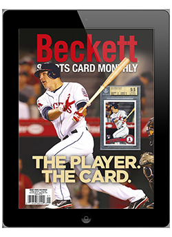 Beckett Sports Card Monthly January 2021 Digital