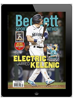 Beckett Sports Card Monthly July 2021 Digital