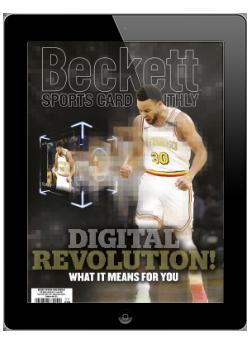 Beckett Sports Card Monthly June 2021 Digital
