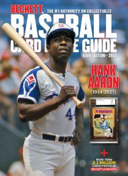 2021 Beckett Baseball Card Price Guide #43