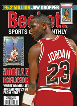 Beckett Sports Card Monthly 432 March 2021
