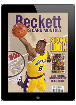 Beckett Sports Card Monthly May 2021 Digital