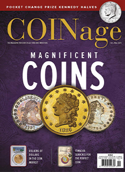 1 Year COINage subscription $17.95