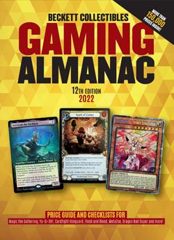 2022 Beckett Collectibles Gaming Almanac #12