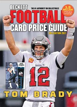 2021 Beckett Football Card Price Guide #38