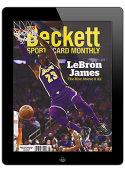 Beckett Sports Card Monthly August 2020 Digital