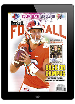 Beckett Football October 2020 Digital