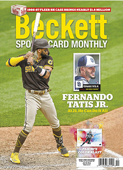 Beckett Sports Card Monthly 427 October 2020