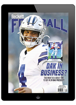 Beckett Football September 2020 Digital