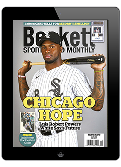 Beckett Sports Card Monthly September 2020 Digital