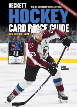 2021 Beckett Hockey Card Price Guide #30