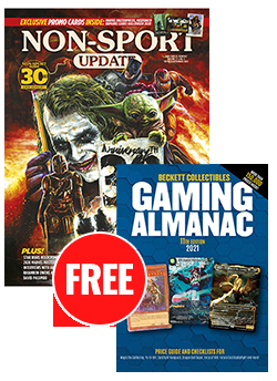 Free Beckett Gaming Almanac #10 with 1-year NSU Subscription