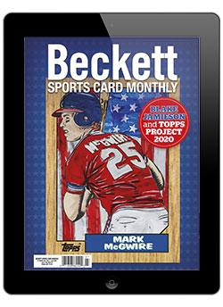 Beckett Sports Card Monthly July 2020 Digital