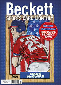 Beckett Sports Card Monthly 424 July 2020
