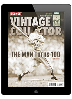 Beckett Vintage Collector August/September -2020 Digital Issue