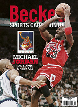 Beckett Sports Card Monthly 423 June 2020