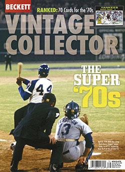 Beckett Vintage Collector June/July-2020
