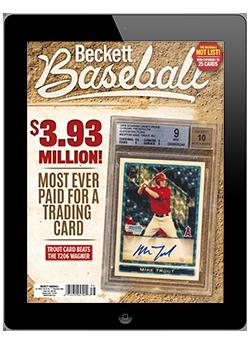 Beckett Baseball November 2020 Digital