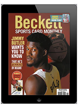 Beckett Sports Card Monthly November 2020 Digital
