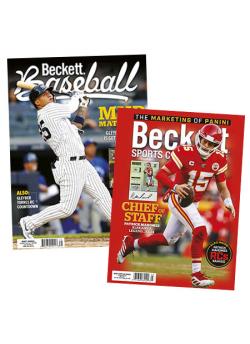 Beckett Sports Cards Monthly + Beckett Baseball Subscription Offer