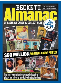 Beckett Baseball Almanac #18th Edition 2013