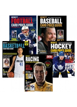 All Sports Price Guides Bundle Offer (Baseball, Basketball, Football, Hockey, Racing)