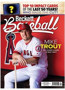 Beckett Baseball 164 November  2019