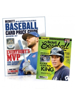 Purchase Baseball Card Price Guide #39 and Get 3-month Beckett Baseball Subscription FREE