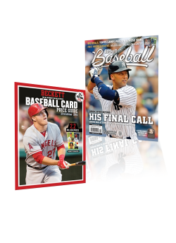 Free Beckett Baseball Card Price Guide #39 With 1-Year Beckett Baseball Subscription