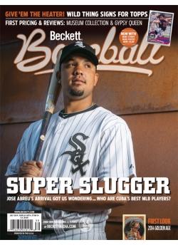 Beckett Baseball 100 July 2014 Jose Abreu