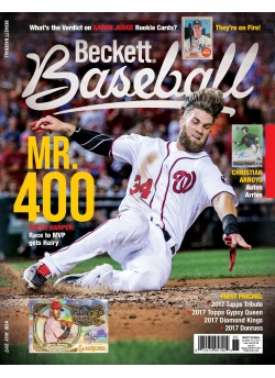 Beckett Baseball 136 July 2017