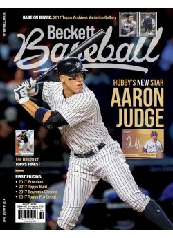 Beckett Baseball 137 August 2017