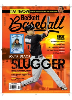 Beckett Baseball 139 October 2017