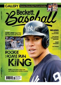 Beckett Baseball 141 December 2017