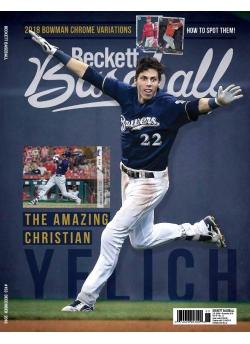 Beckett Baseball 153 December 2018