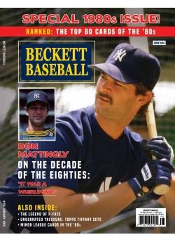 Beckett Baseball 154 January 2019
