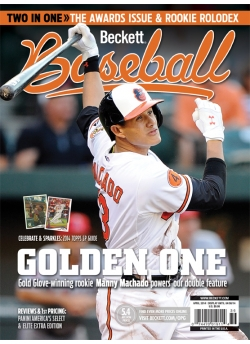 Beckett Baseball 97 April 2014 Manny Machado